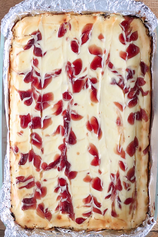 Strawberry Cheesecake Bars-3