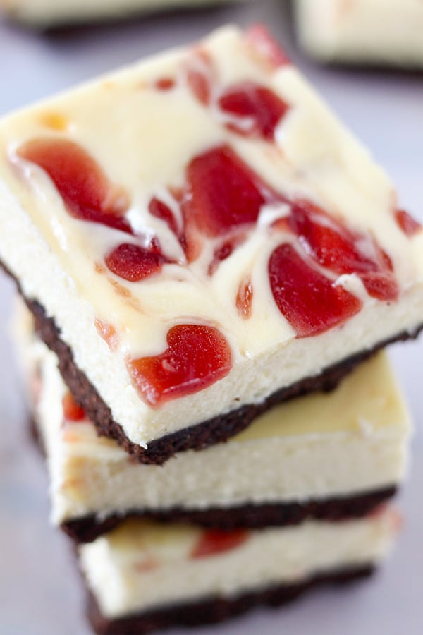 Strawberry Cheesecake Bars-5