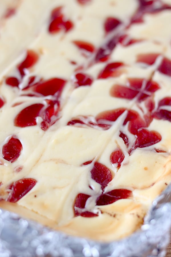 Strawberry Cheesecake Bars No 2 Pencil