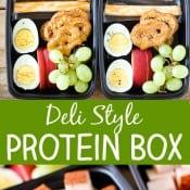 Deli Style Protein Box