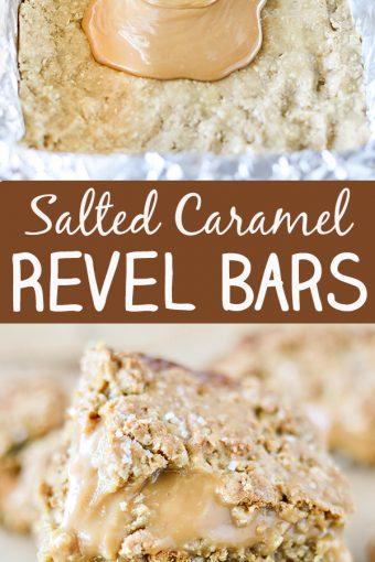Salted Caramel Revel Bars