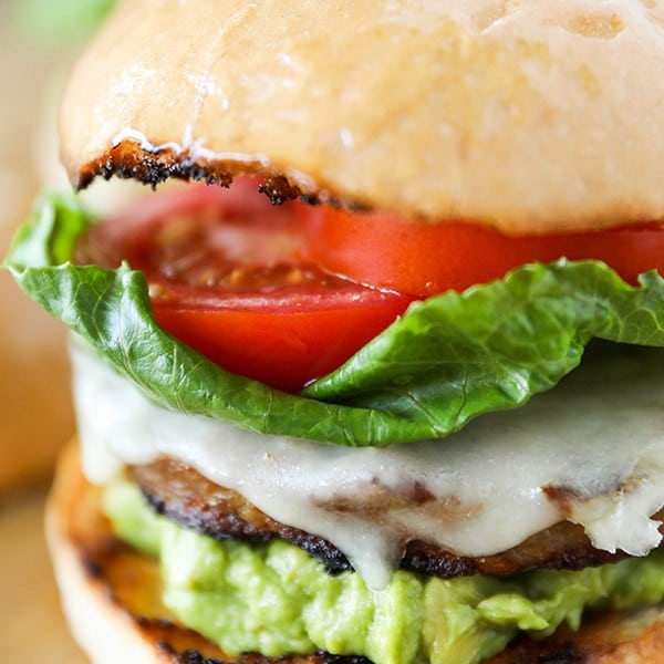 Santa Barbara Style Grilled Turkey Burger