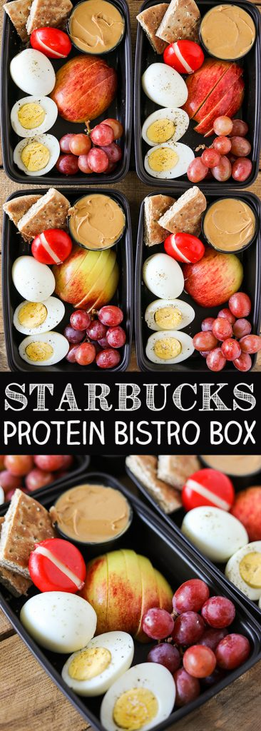 DIY Starbucks Protein Bistro Box Pin