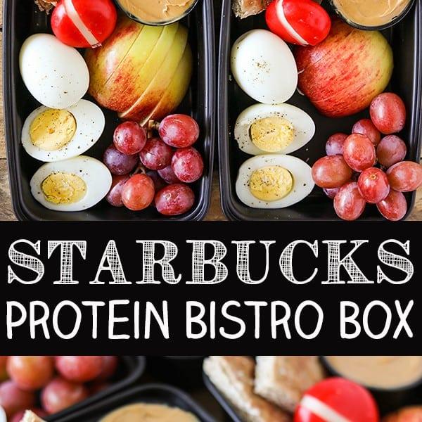 DIY Starbucks Protein Bistro Box – Easy Meal Prep