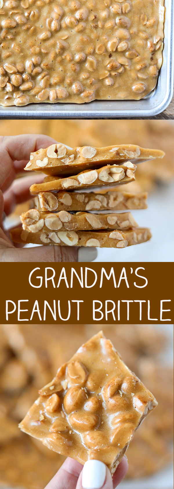 Grandma's Peanut Brittle Recipe