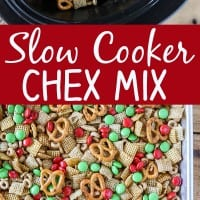 Homemade Slow Cooker Chex Mix Pin