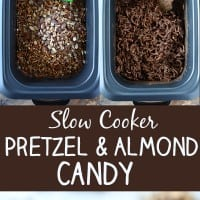 Slow Cooker Pretzel and Smoked Almond Candy