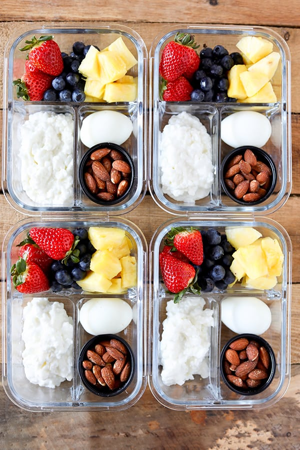Meal Prep Protein Box from Number 2 Pencil on foodiecrush.com
