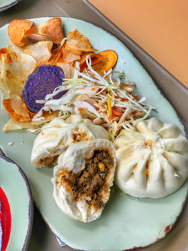 Cheeseburger Steamed Pods - Bao Buns From Satu'li Canteen in Pandora