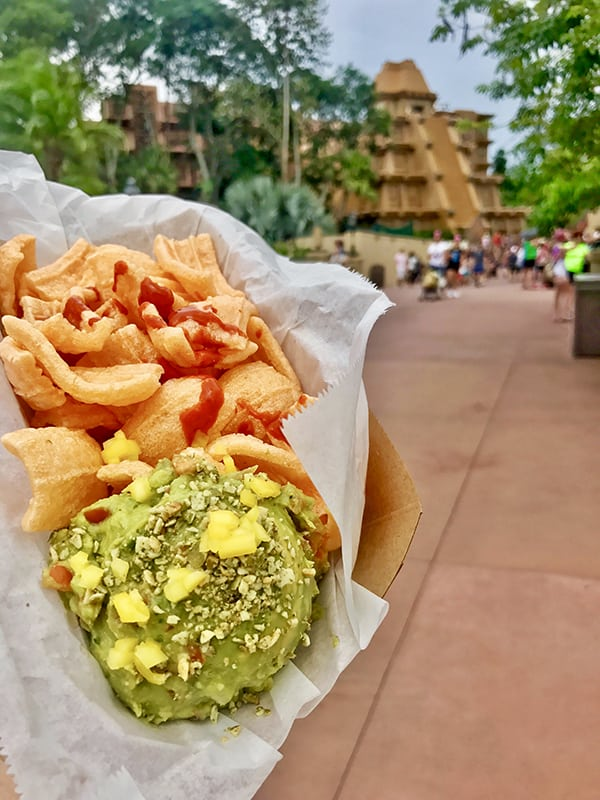 Guacamole from Choza de Margarita in the Mexico Pavilion