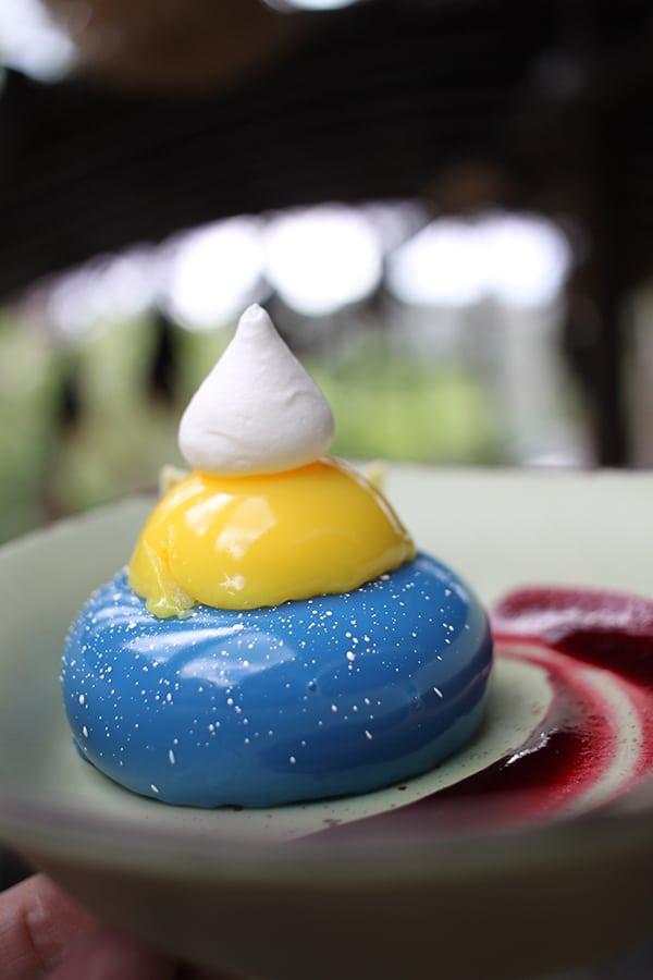 Blueberry Cream Cheese Mousse From Satu'li Canteen in Pandora