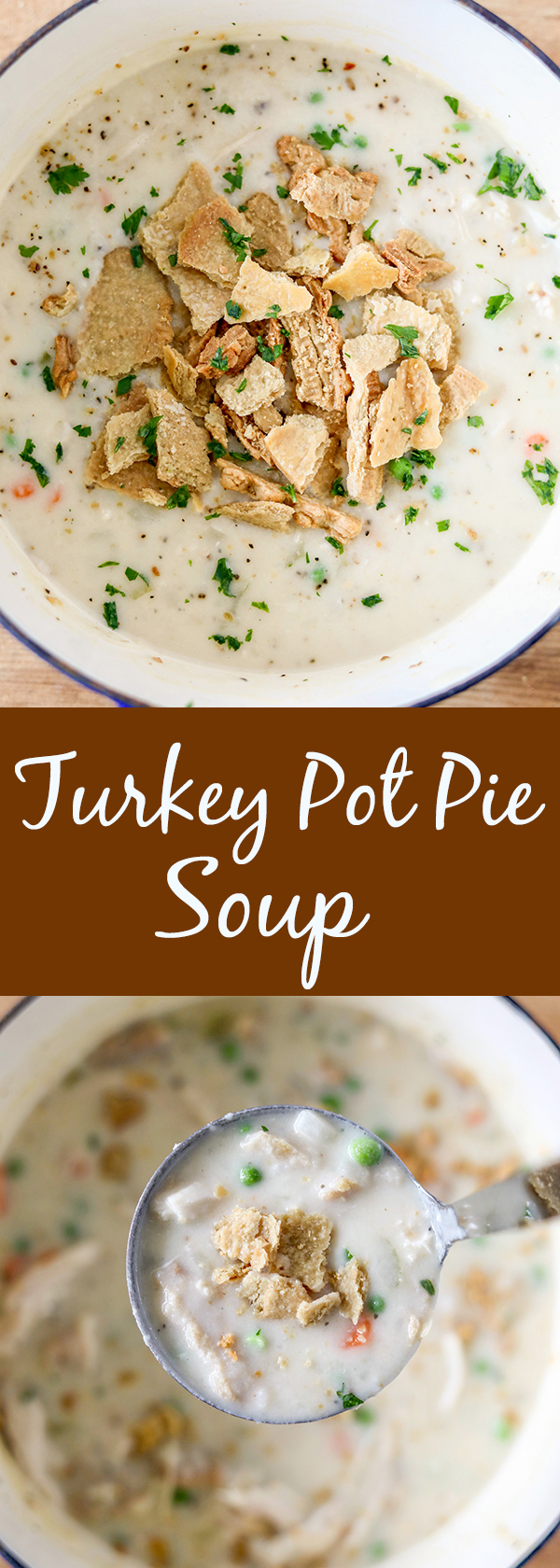 Easy Turkey Pot Pie Soup