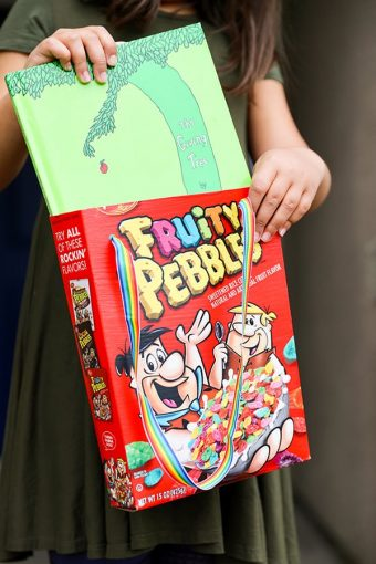 Cereal Box Craft DIY Tote Bag