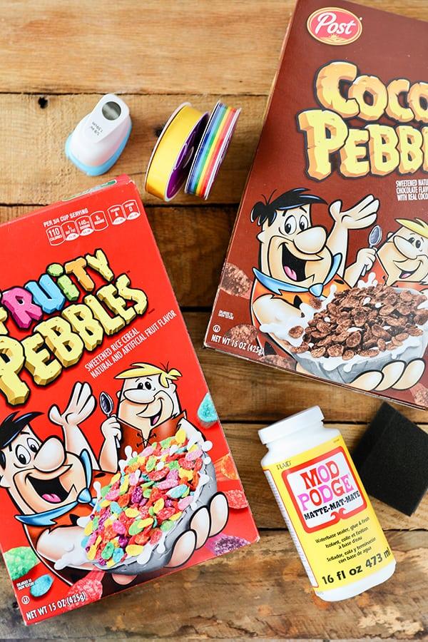 Cereal Box Craft DIY Tote Bag