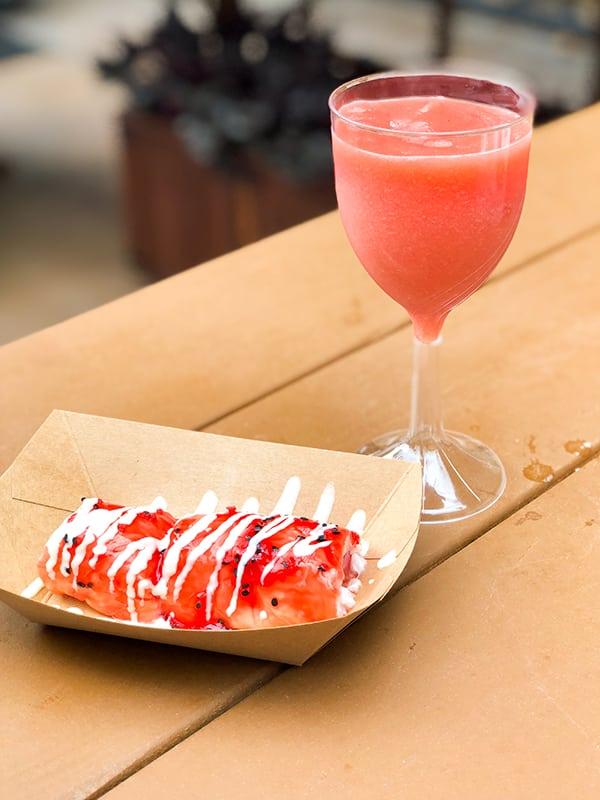 Strawberry Frushi Disney California Adventure Food and Wine Festival at Disneyland