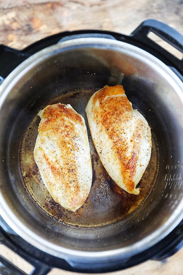 Instant Pot Chicken Breasts for Chicken Alfredo
