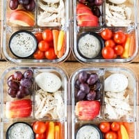 Protein Fruit and Veggie Snack Box