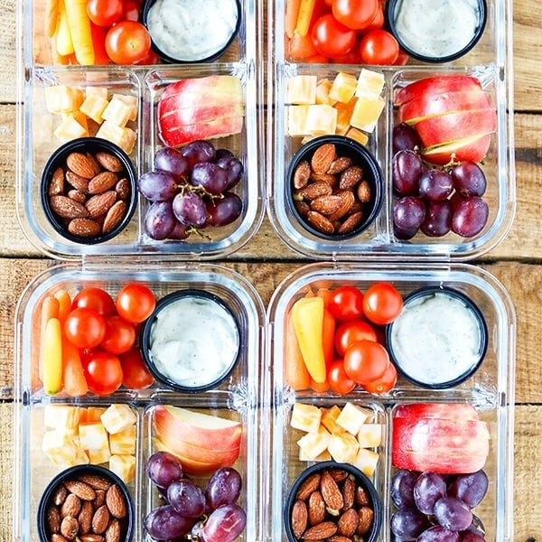 Easy Meal Prep Bistro Snack Boxes