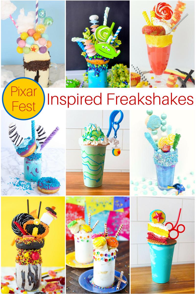 Pixar Fest Inspired FreakShakes