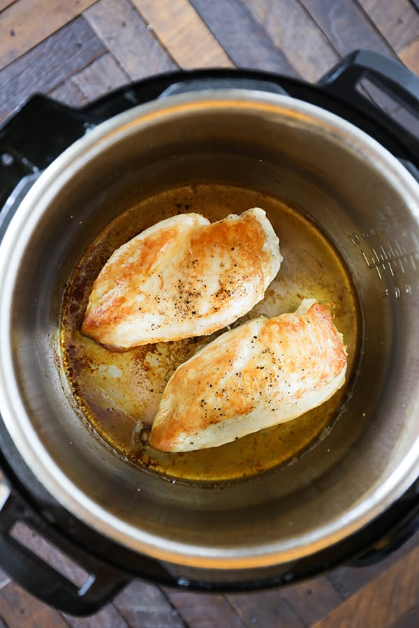 Instant Pot Chicken for Pasta