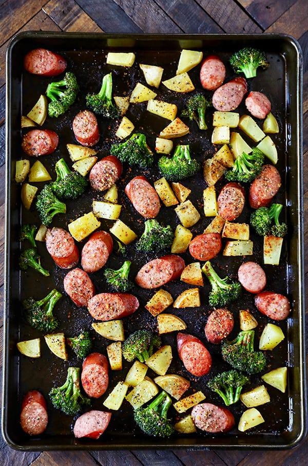 One Sheet Pan Dinner Idea