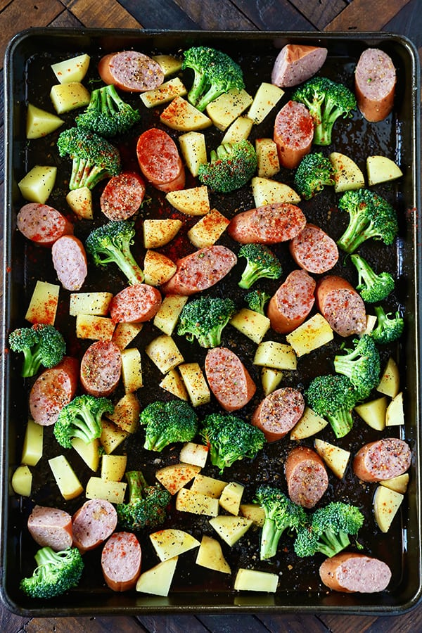 One Sheet Pan Dinner