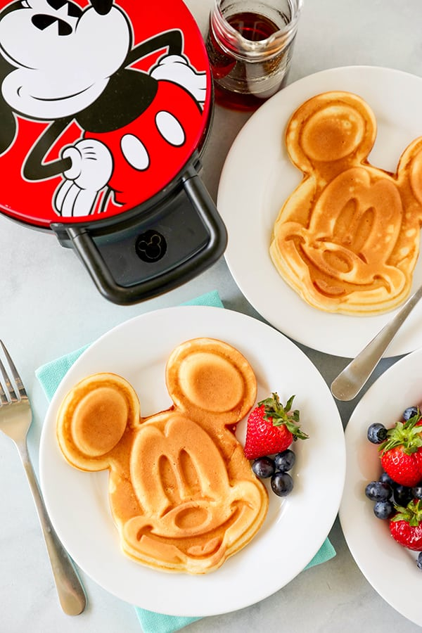 Mickey Mouse Waffle Maker For Homemade Mickey Waffles No 2 Pencil