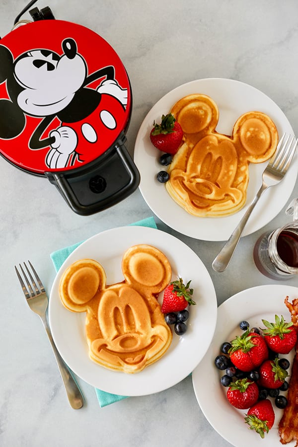 Mickey Mouse Waffle Maker for Homemade Mickey Waffles