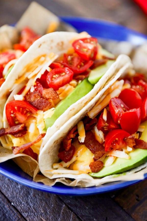 Breakfast Tacos Recipe Easy Breakfast Idea