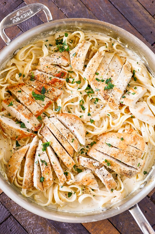 chicken fettuccine alfredo recipe no 2 pencil