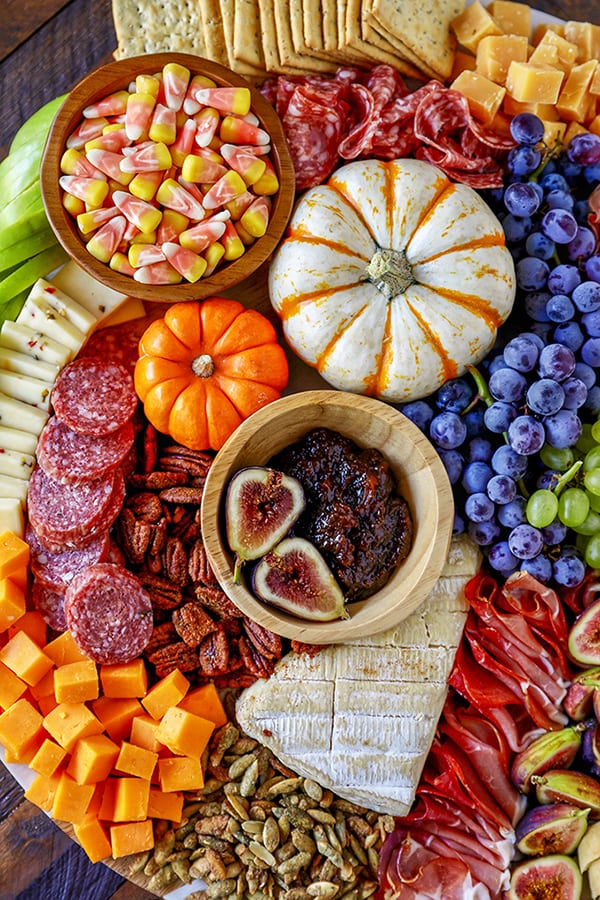 Harvest Charcuterie Board - Easy Fall Dinner or Appetizer Idea