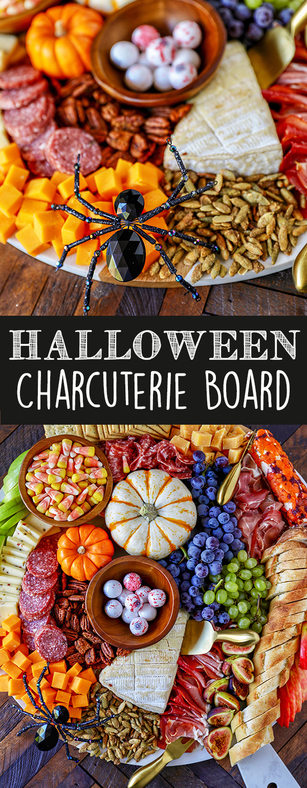 Halloween Charcuterie Board - easy Halloween party idea!