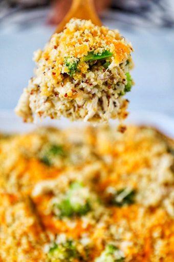 Chicken Broccoli Casserole with Quinoa