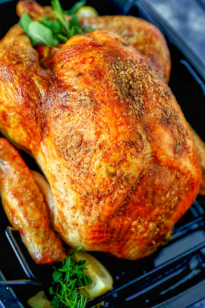 Garlic Herb Butter Thanksgiving Turkey Recipe No 2 Pencil