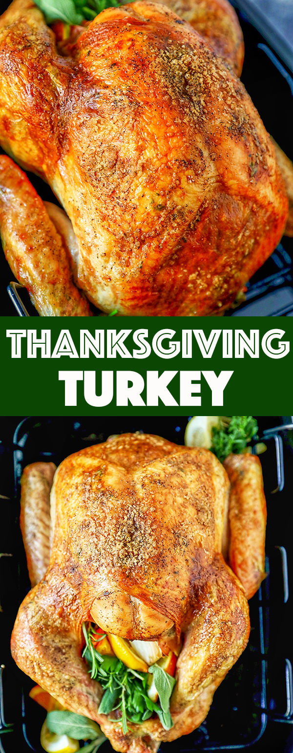 Herb Butter Thanksgiving Turkey Recipe
