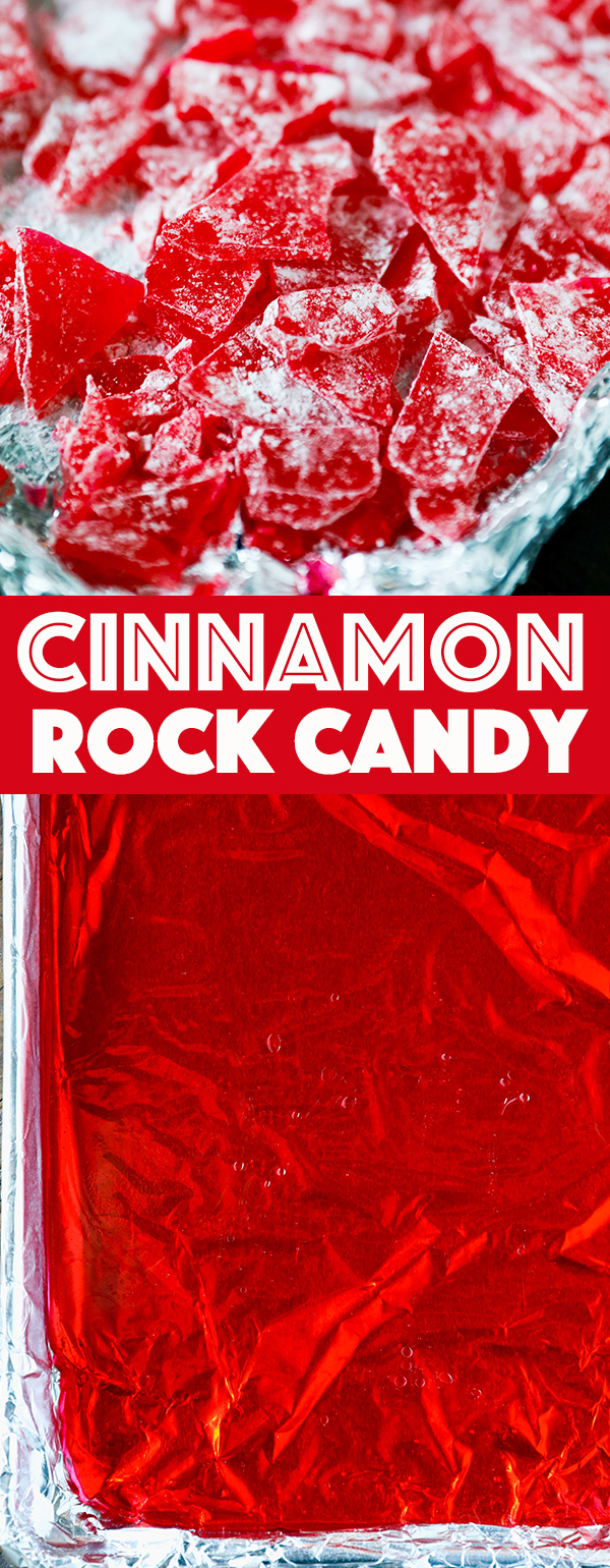 Cinnamon Hard Candy Recipe - Easy Christmas Candy Recipe