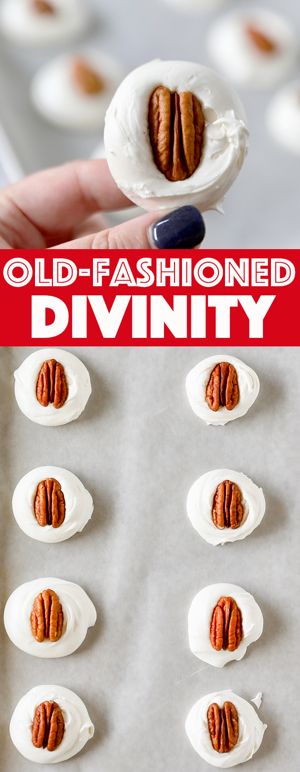 Old-Fashioned Divinity Candy Recipe - Christmas Candy Recipe