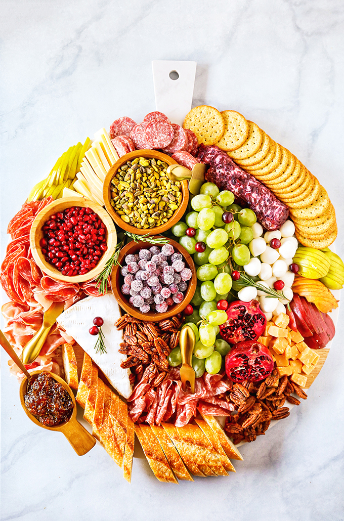 Easy Christmas Charcuterie Board for the Holidays