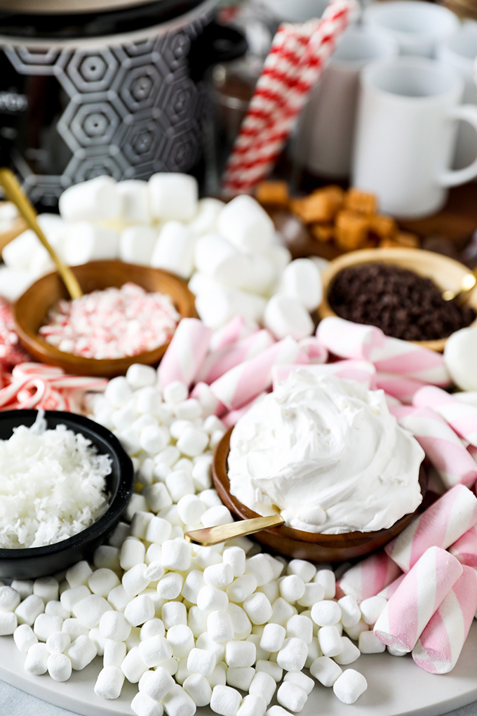 Hot Chocolate Dessert Charcuterie Board