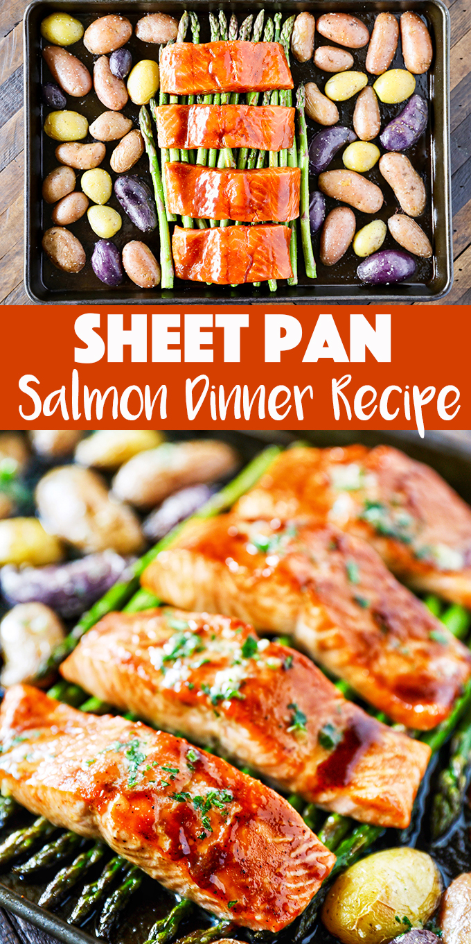 Sheet Pan Salmon Dinner Recipe