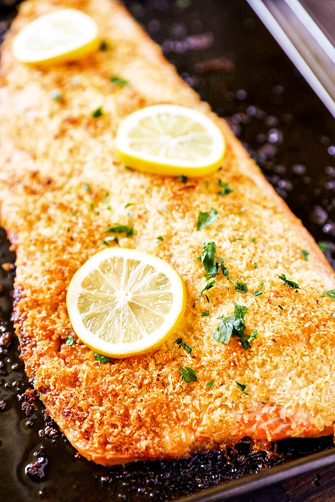 Parmesan Crusted Salmon Filet Recipe No 2 Pencil
