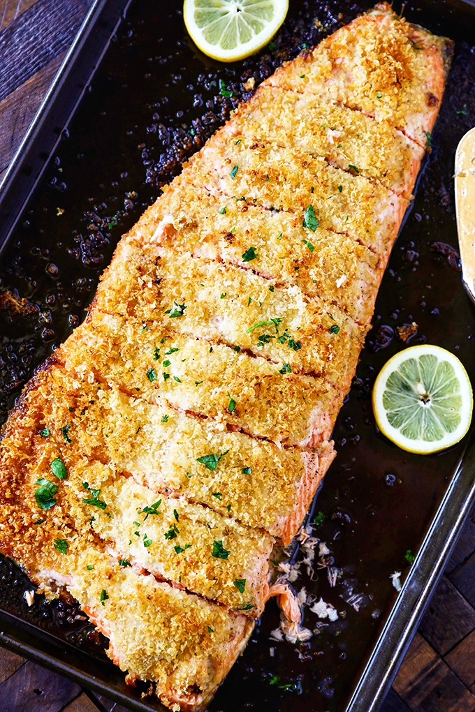 Crispy Baked Salmon Fillet Recipe