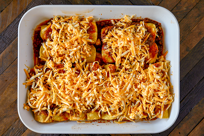 TheseBeef Enchiladas are so tasty and easy, you'll never go back to canned enchilada sauce. Corn tortillas filled with flavorful ground beef, melty cheese and a killer homemade red enchilada sauce.