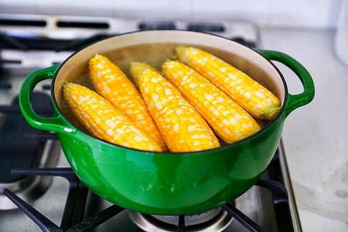 Stove Top Corn on the Cob