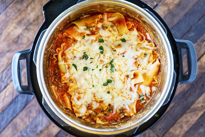 Lasagna Instant Pot