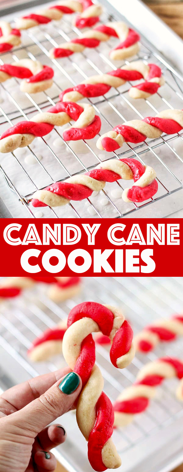 Old-Fashioned Candy Cane Cookies