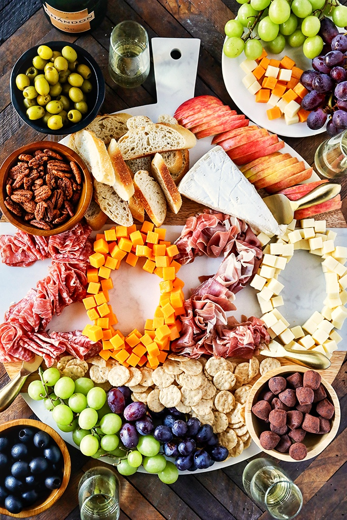 New Year's Eve Charcuterie Board - Easy New Year's Eve Appetizer