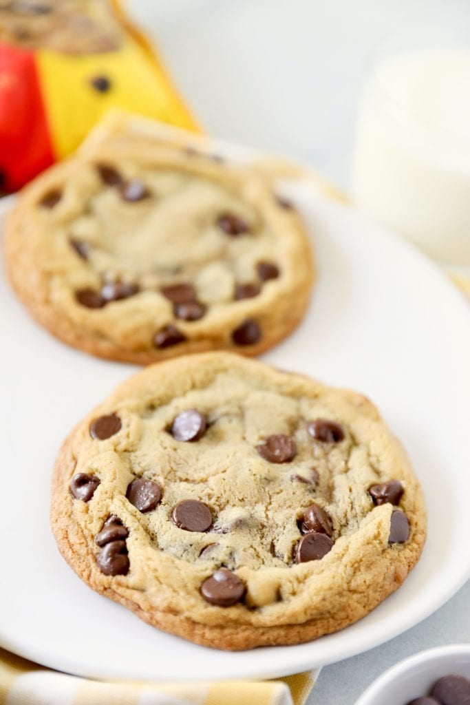 Single Serving Chocolate Chip Cookies