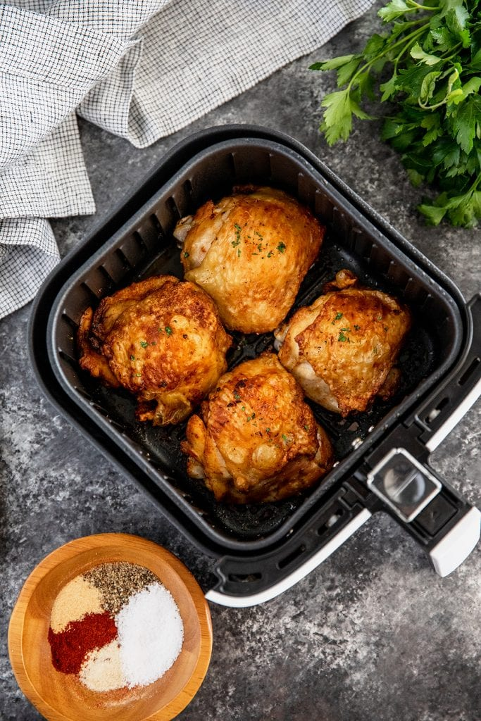 How to Cook Chicken Thighs in the Air Fryer