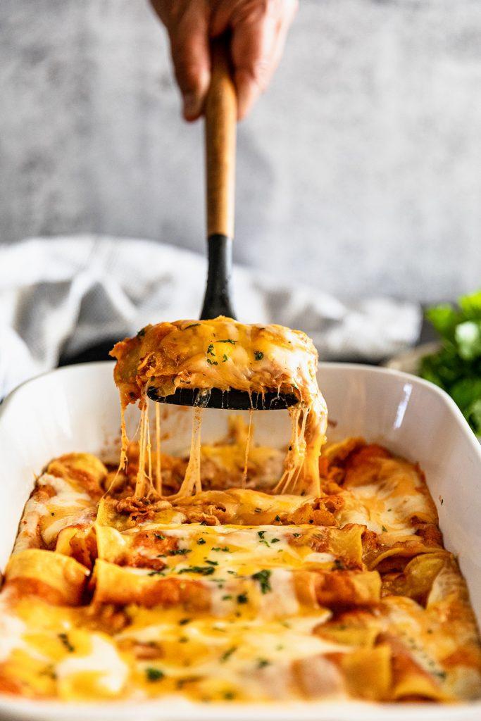 Homemade Cheese Enchilada Recipe
